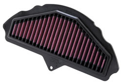 Replacement air filter for 2008, 2009 and 2010 Kawasaki Ninja ZX-10R
