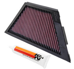 2009 Kawasaki ZZR1400 1400 Air Filter