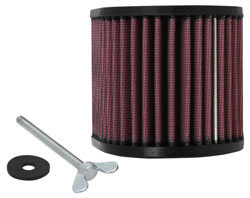 K&N replacement air filter, part number KA-1408 is ideal for use in dirty and dusty off road conditions for your 2008-2013 Kawasaki KLX140 and 2008-2012 Kawasaki KLX 140L