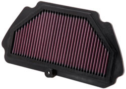 One of K&N's famous four layer OE replacement air filters for street vehicles, part number KA-6009