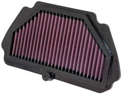 K&N race specific 2009, 2010, 2011 and 2012 ZX-6R air filter KA-6009R