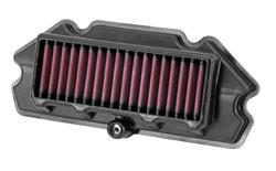 K&N Air Filter for 2012-2015 Kawasaki 650R Ninja & 2012-2016 ERn and ERf Models