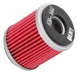 K&N oil filter for 2011 Yamaha YFM250R Raptor 249