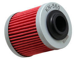 K&N oil filter for 2012 Can-Am DS450 EFI X xc 450