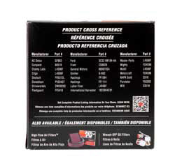 K&N diesel pickup fuel filter line is designed as a direct factory or aftermarket fuel filter cross reference