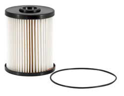 High-performance cellulose glass media used in the K&N diesel pickup replacement fuel filter