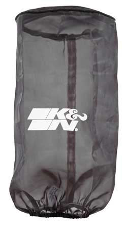 K&N Drycharger air filter wraps will to prevent splashes of water or mud from saturating a K&N air filter