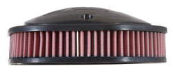 K&N PL-1814 replacement air filter provides 50% more air to your big Indian V-Twin