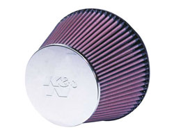 K&N Universal Extreme Duty Chrome Top Air Filter RC-2960XD