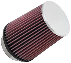 K&N Universal Extreme Duty Chrome Top Air Filter RC-4630XD