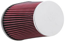 K&N Universal Chrome Top Air Filter RC-5055