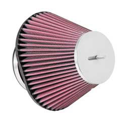K&N Universal Chrome Top Air Filter RC-5056
