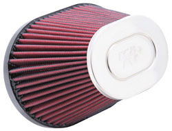 K&N Universal Chrome Top Air Filter RC-5132