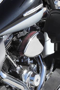 K&N's RK-3939 Installed on a 2012 Harley-Davidson Electra Glide 103 CI