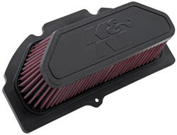 Replacement air filter for Suzuki GSX-R1000
