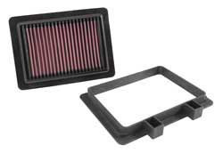 Washable and reusable K&N air filter for 2014, 2015 and 2016 Suzuki DL1000 V-Strom models