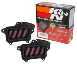 K&N SU-1409 filter product and box for the Suzuki Boulevard 1500