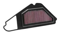 K&N air filter, SU-1506, is specifically designed to fit 2004-2010 Suzuki FU150 Raider
