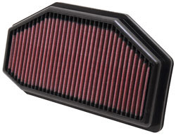 Replacement Air Filter for 2011 to 2014 Triumph Speed Triple and Street Triple Motorcycles