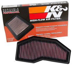 Kn Tb 1016 Air Filter Increases Airflow To 2016 Triumph Speed