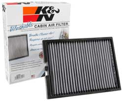K&N Cabin Replacement Air Filters perform for up to 10 years or 1,000,000 miles