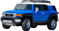 Toyota FJ Cruiser with K&N Air Intake