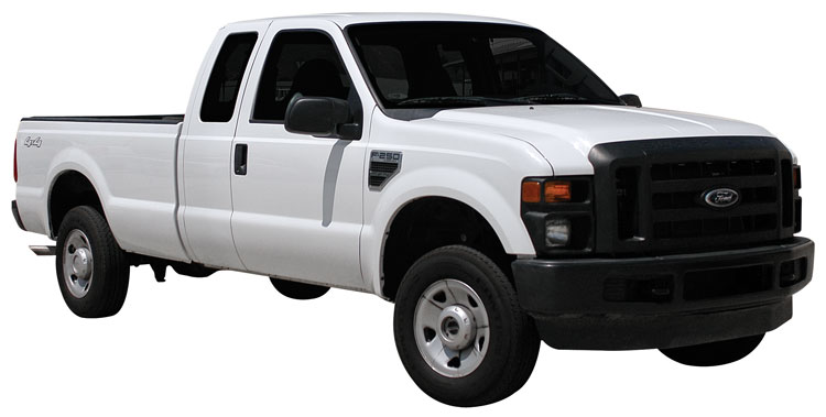 extremely popular ford f250 super duty truck achieves nearly 14 more horsepower with k n air intake. Black Bedroom Furniture Sets. Home Design Ideas