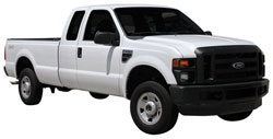 2008 Ford F250 Super Duty with 5.4 liter V8