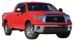 Toyota Tundra with K&N air intake system