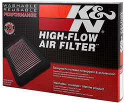 K&N 33-3045 air filter for Toyota 2.8L or 2.4L diesel