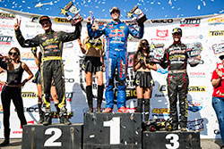 RJ Anderson wins first place at  Lucas Off-Road Racing Series Round 8 at Estero Beach, Baja California