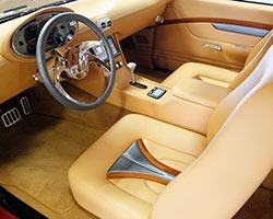ZZ572 powered 1969 Chevy Camaro custom leather interior