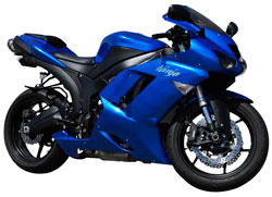 2008 Kawasaki ZX6R Ninja Sportbike With 600cc Engine