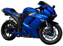 2008 Kawasaki ZX6R Ninja Sportbike With 600cc Engine