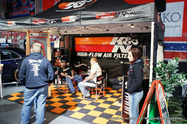 Aaltonen Motorsports Attends Seasons Biggest XTreme Car Show In - Car show booth