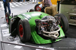 The Woodruff Special at the X-Treme Show in Finland uses custom K&N Air Cleaners