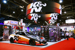 2009 SEMA (Specialty Equipment Market Association) Show featured K&N's Infiniti G35
