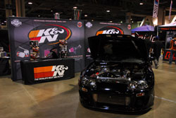 K&N Booth at the Spocom Long Beach Supershow
