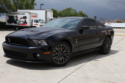 2010 Ford Mustang Shelby GT500 5.4L.