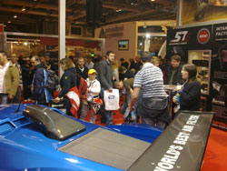 K&N booth at the 2010 Autosport International Show