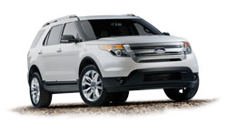 2011 NHRA Ford Explorer goes to 2011 K&N Horsepower Challenge Sweepstakes Winner