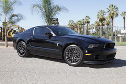 2012 Ford Mustang Shelby with K&N air intake system helps boost torque and acceleration