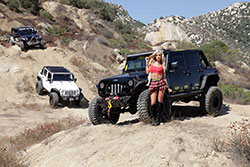 Jess Harbour with Rockstar Garage Jeeps