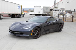 2014 Chevy Corvette with K&N Air Intake System