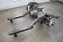 1967 Camaro SpeedTech front subframe with front suspension