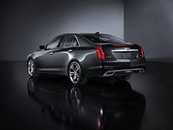 2009-2015 Cadillac CTS-V K&N intake system.