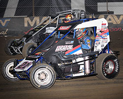 Cory Kruseman started the B Feature in 11th at 2015 Chili Bowl Midget Nationals