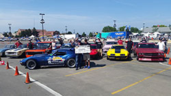 Sponsor Shootout Autocross at the Goodguys 19th Annual PPG Nationals, in Columbus, Ohio