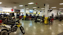 Powersport Institute Suzuki training center in Cleveland, Ohio