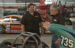 K&N's Steve Williams and Sam Memmolo Talk in K&N's Performance Race Shop